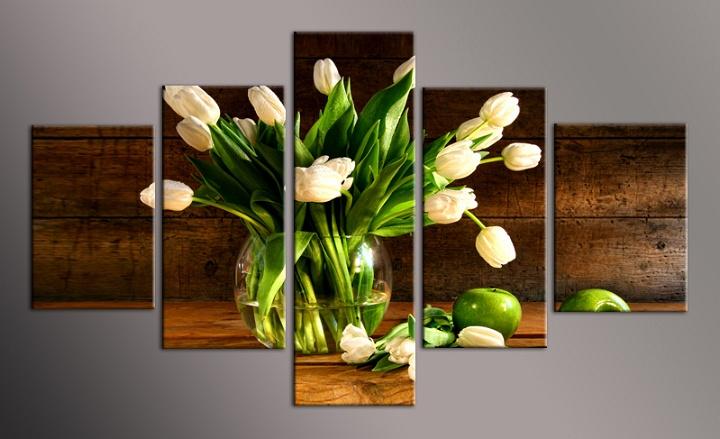 Obraz na plátně tulipány