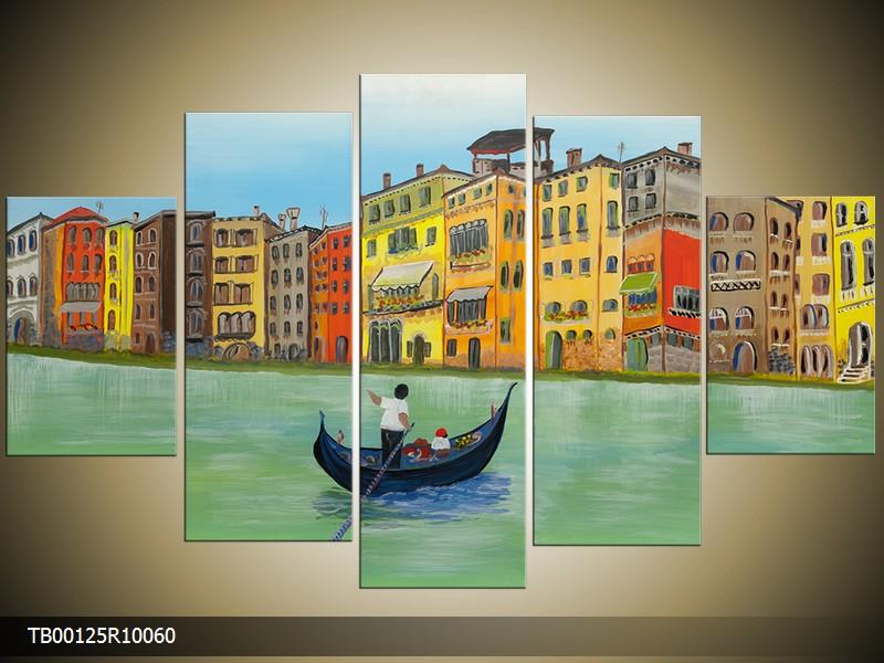 Ručně malovaný obraz Benátky