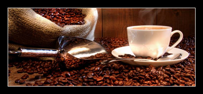 Obraz na zeď zátiší s kávou