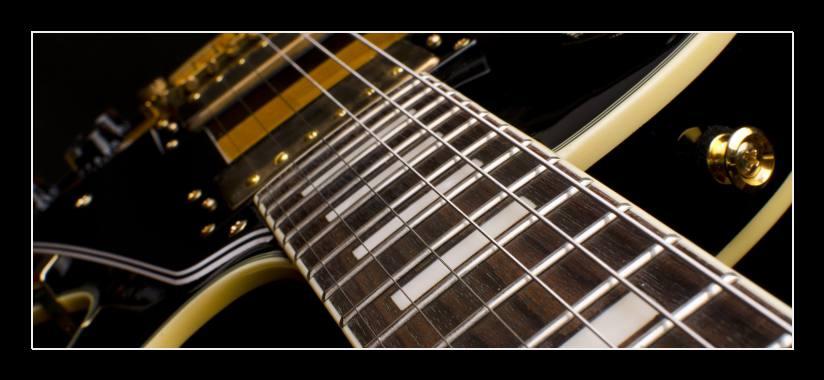 Obraz na zeď elektrická kytara