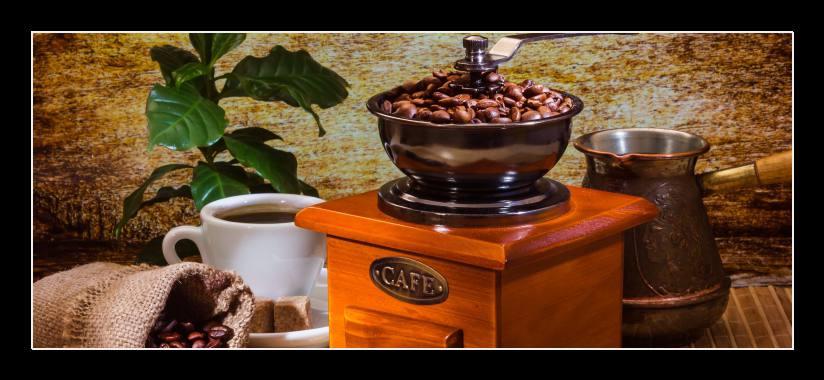 Obraz na zeď mlýnek na kávu