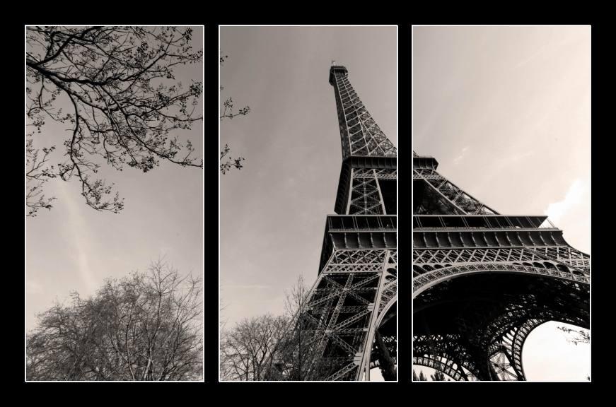 Obraz na zeď Paříž, Eiffelova věž