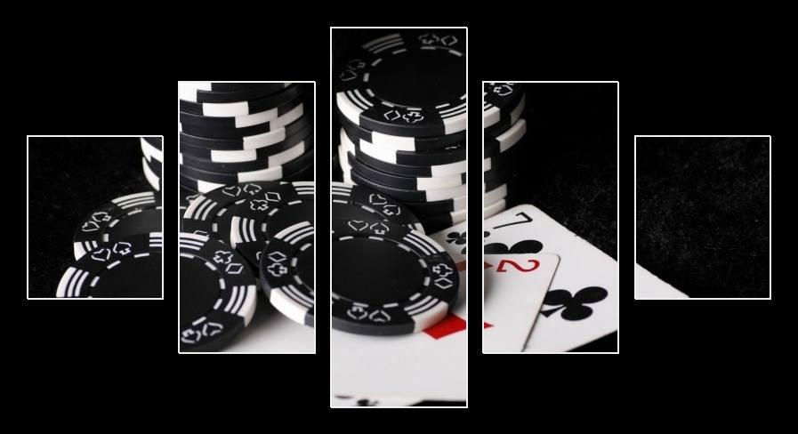 Obraz na zeď poker