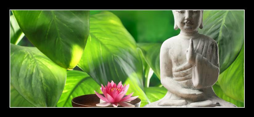 Obraz do bytu meditace, Buddha
