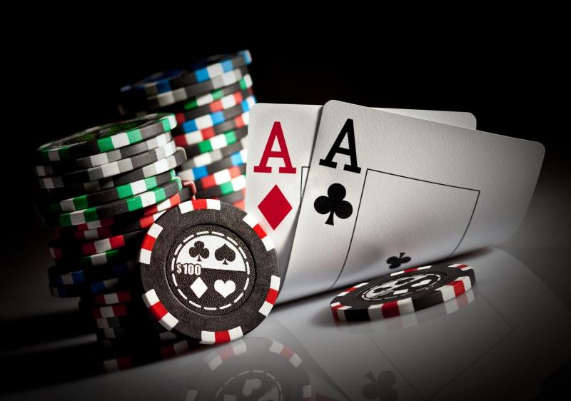 Fototapeta poker