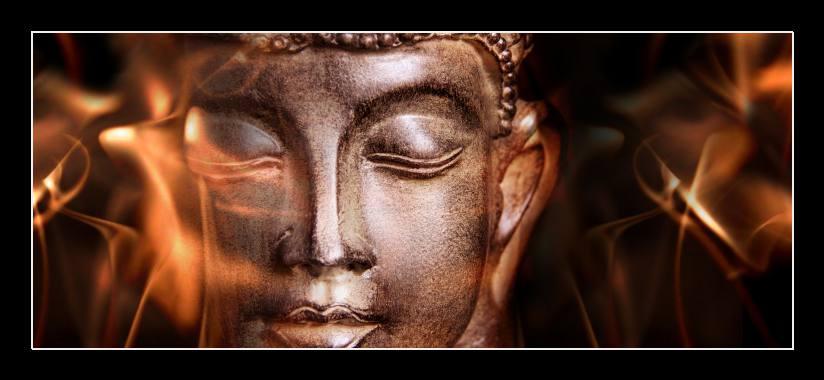 Obraz na skle Buddha