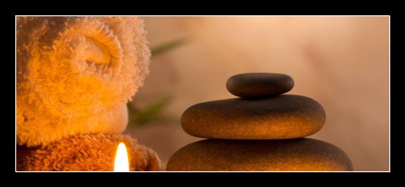 Obraz na skle kameny, zen