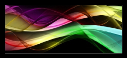 Obraz na skle barevná abstrakce