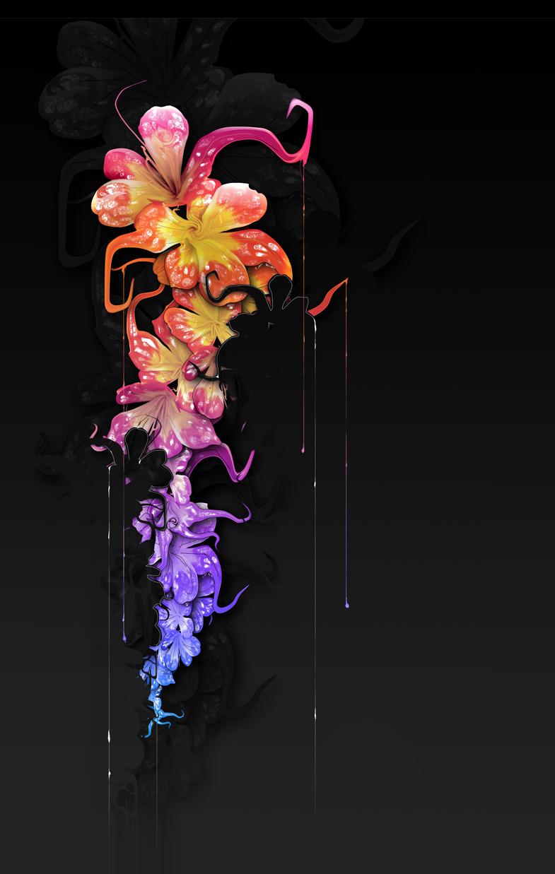 Obraz květů