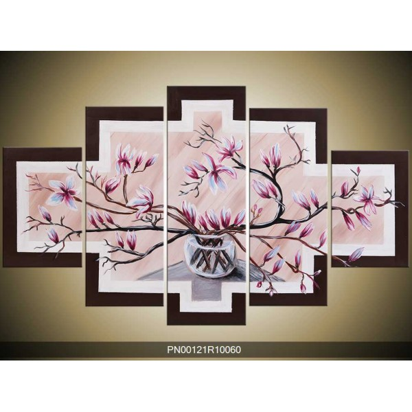 Obraz magnolie ve váze