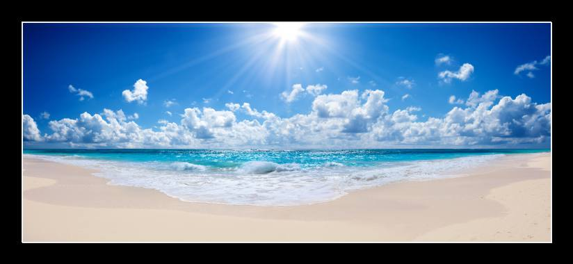 Obraz do bytu modré nebe