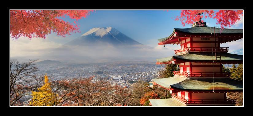 Obraz na zeď Japonsko, Fuji