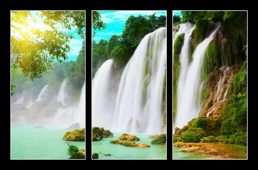 Obraz na zeď vodopády