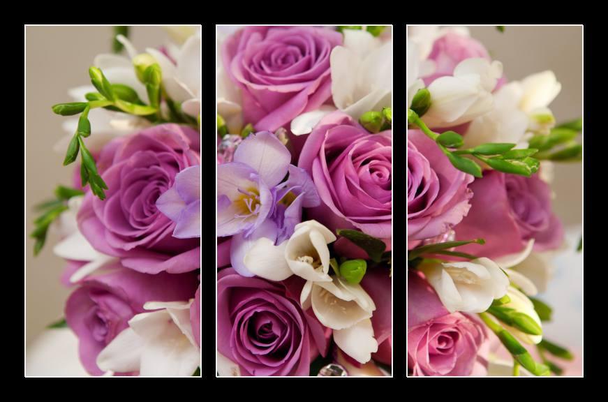 Obraz do bytu kytice růží