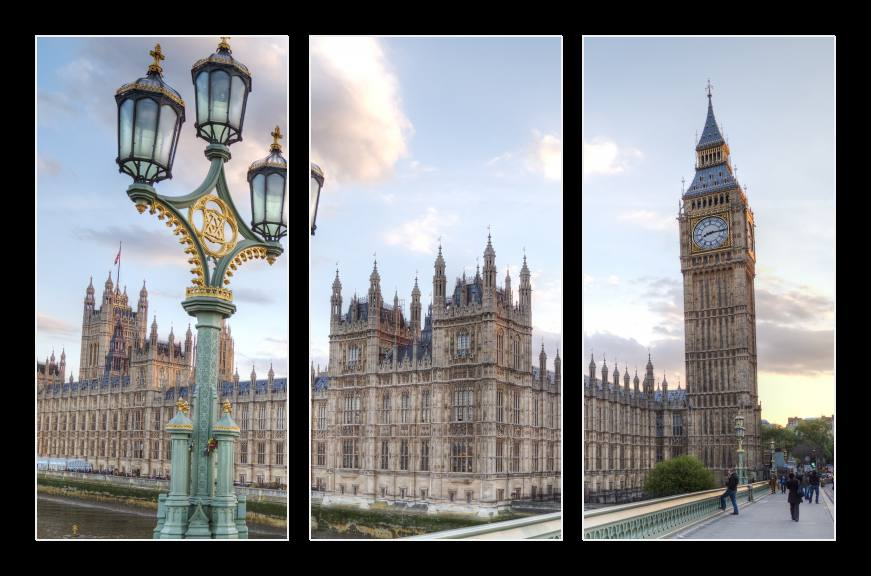 Obraz na zeď Londýn