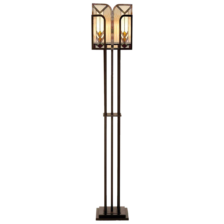 Stojací lampa Tiffany