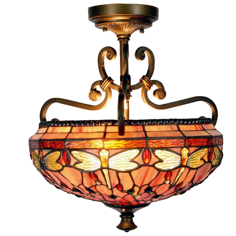 Závěsné svítidlo Tiffany /Dragonfly