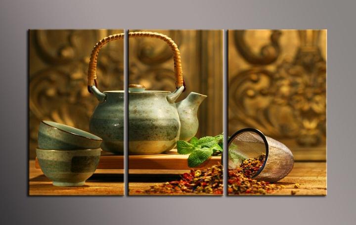 Obraz do bytu konvička na čaj