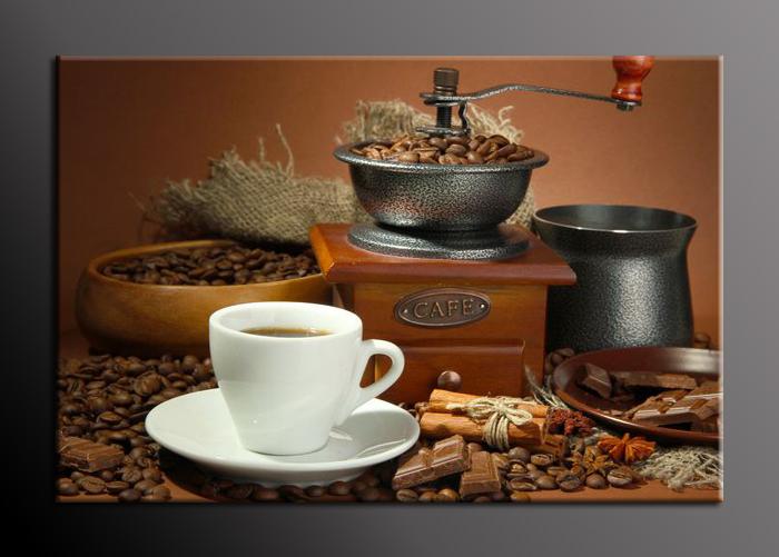 Obraz na stěnu mlýnek na kávu