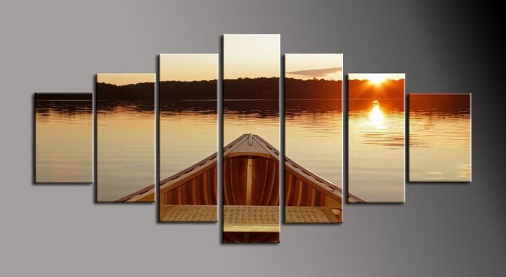 Moderní obraz loďky