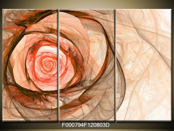 Obraz abstraktní růže