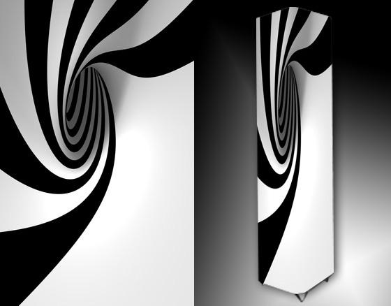 Lampa - abstrakce