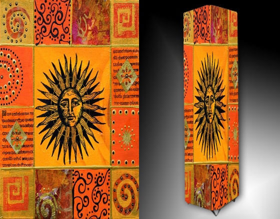 Lampa - slunce