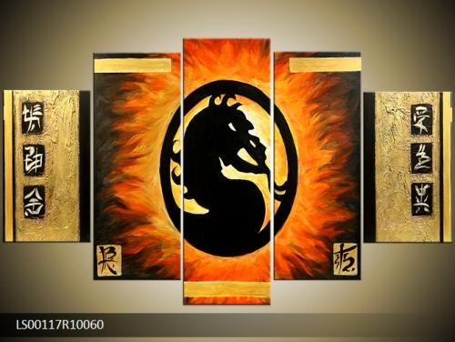 Obraz draka