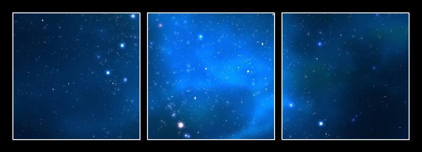 Obraz do bytu hvězdné nebe