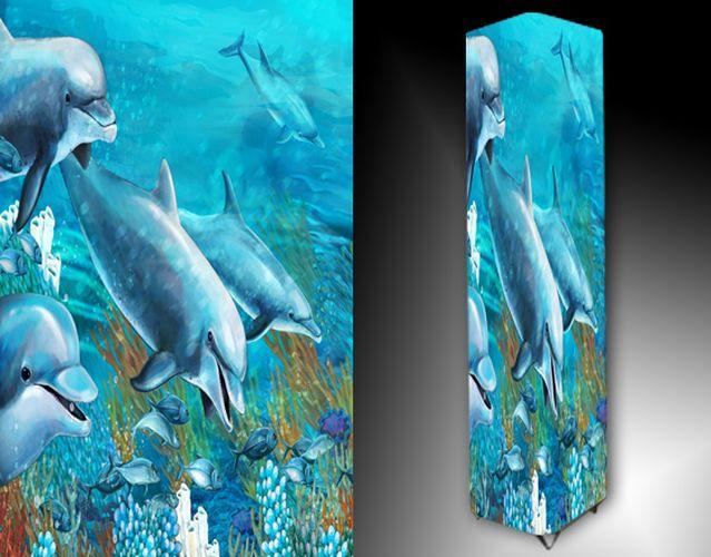 Lampa - delfíni