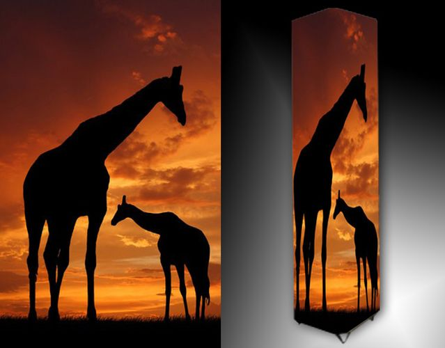 Lampa - žirafy