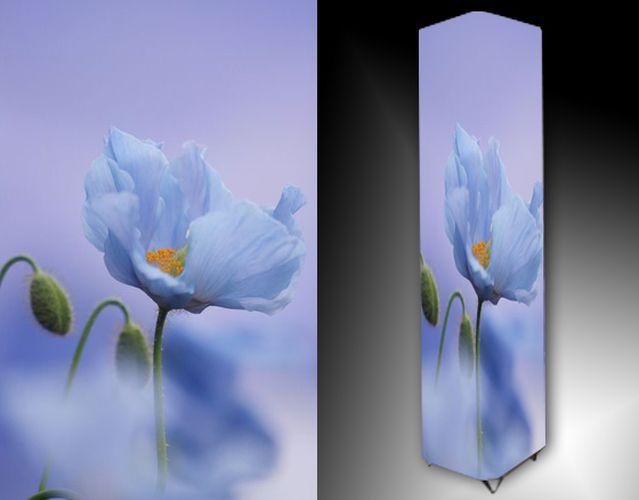 Lampa - modrý květ