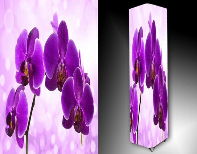 Lampa - fialová orchidej