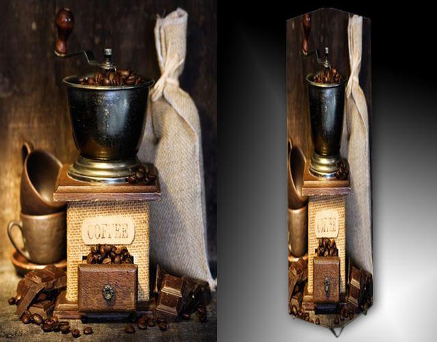 Lampa - mlýnek na kávu
