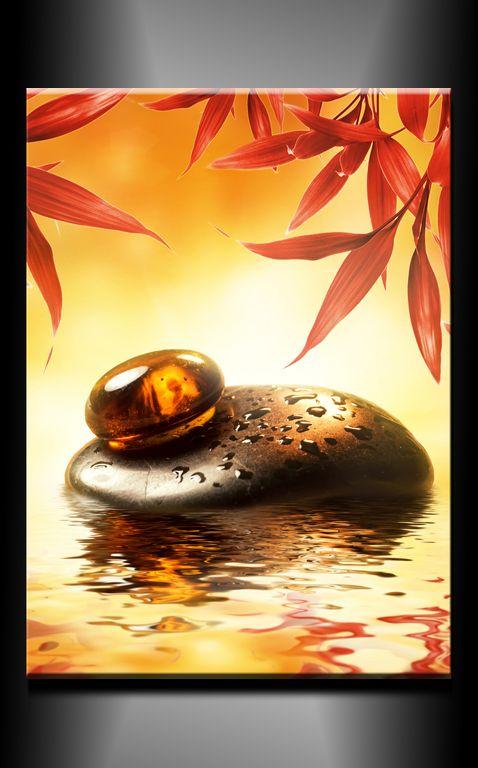 Obraz do bytu kameny, zen