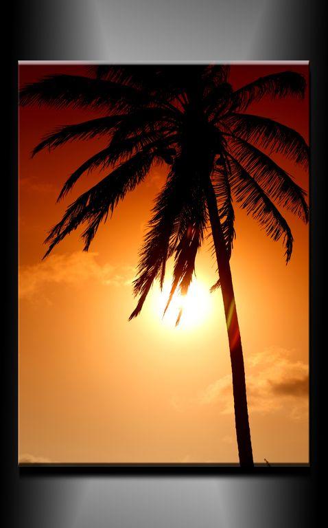 Obraz do bytu palma