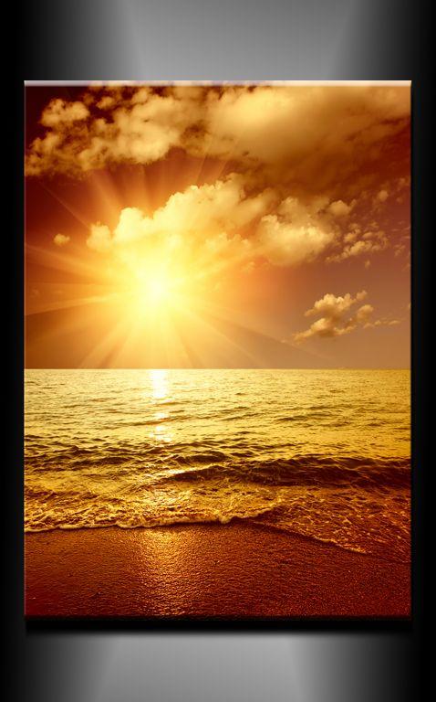 Obraz do bytu západ slunce