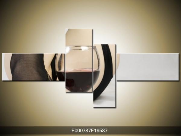 Obraz sklenka vína