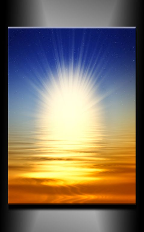 Obraz do bytu slunce
