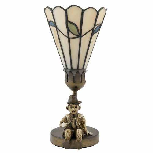 Dekorativní lampa Tiffany Pinocchio