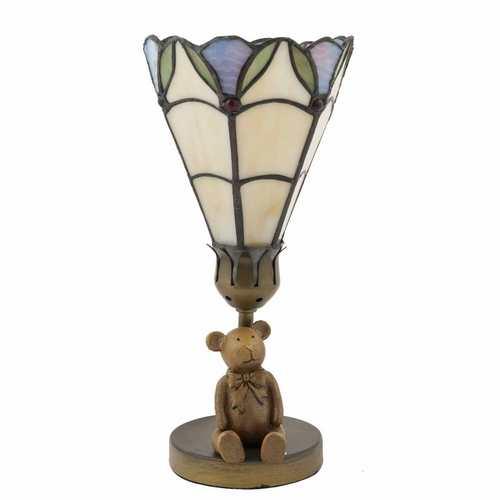 Dekorativní lampa Tiffany medvídek