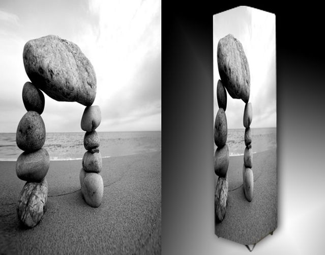 Lampa - kameny