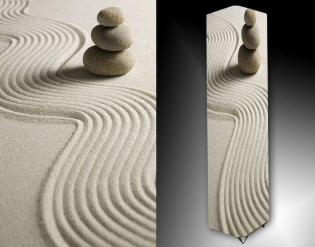 Lampa - kameny v písku
