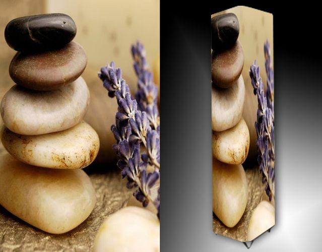 Lampa - kameny a levandule