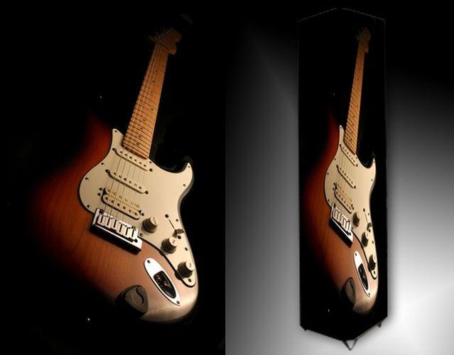 Lampa - elektrická kytara