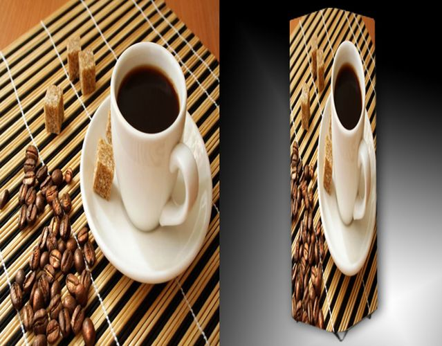Lampa - káva a třtinový cukr