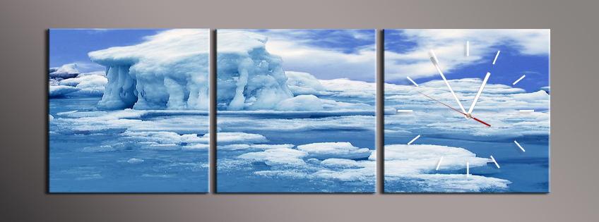 Obraz s hodinami led