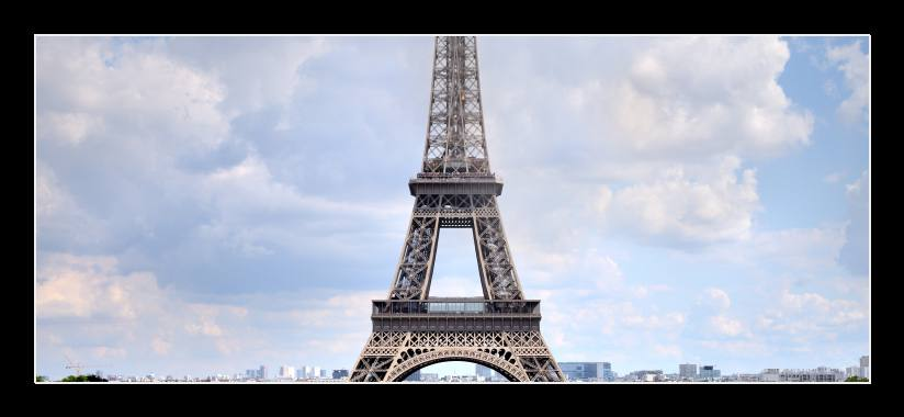 Obraz do bytu Eiffelova věž