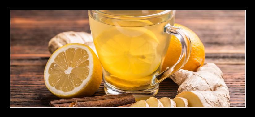 Obraz do bytu zázvorový čaj