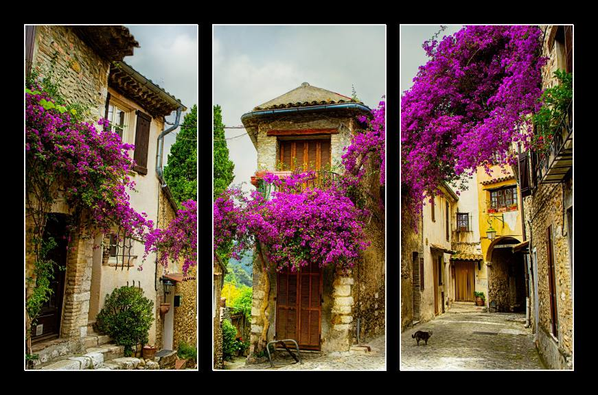 Obraz do bytu ulička v Provence